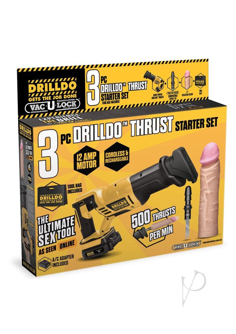Drilldo Thrust Starter 3 Piece Set
